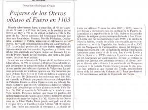 Historia de Pajares de los Oteros
