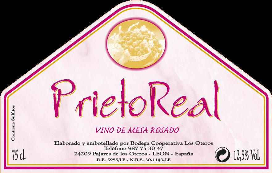 Etiqueta Prieto Real Rosado