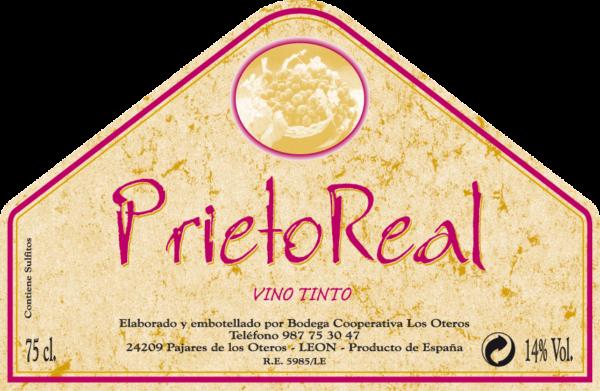 Etiqueta Prieto Real Tinto