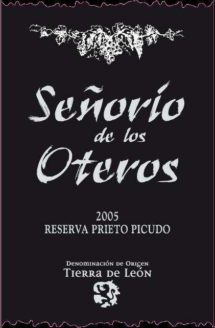 Etiqueta Señorio de Los Oteros